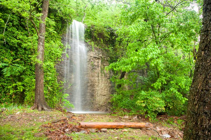 Unnamed Falls, Oklahoma