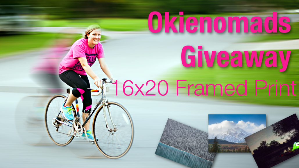Giveaway!!! Win a Framed Print from Okienomads