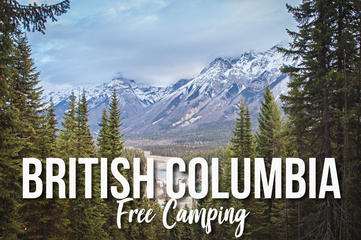 FREE Camping: Wapta Falls Recreation Site-Field, British Columbia