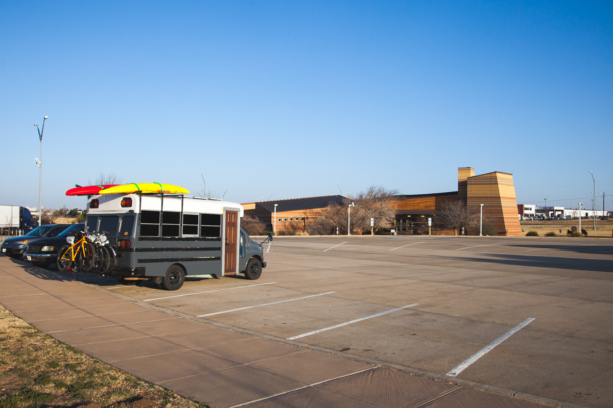 FREE CAMPING: Texas Travel Center- Amarillo, TX