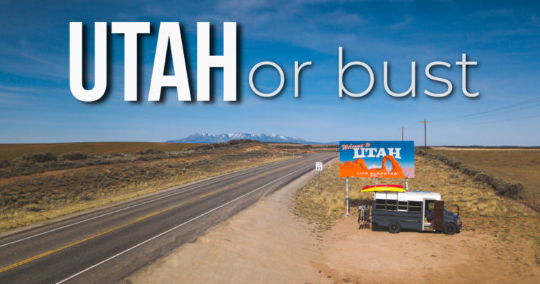 New Travel VLOG Series Episode: Utah or Bust