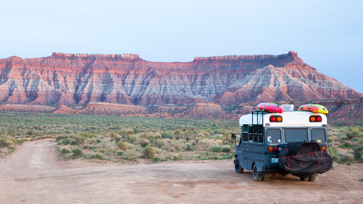 Skoolie Overland Travel Part 1: Why a Skoolie-Conversion Makes a Bad Travel Rig