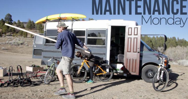 Our bus broke…Maintenance Monday Repair YouTube Video