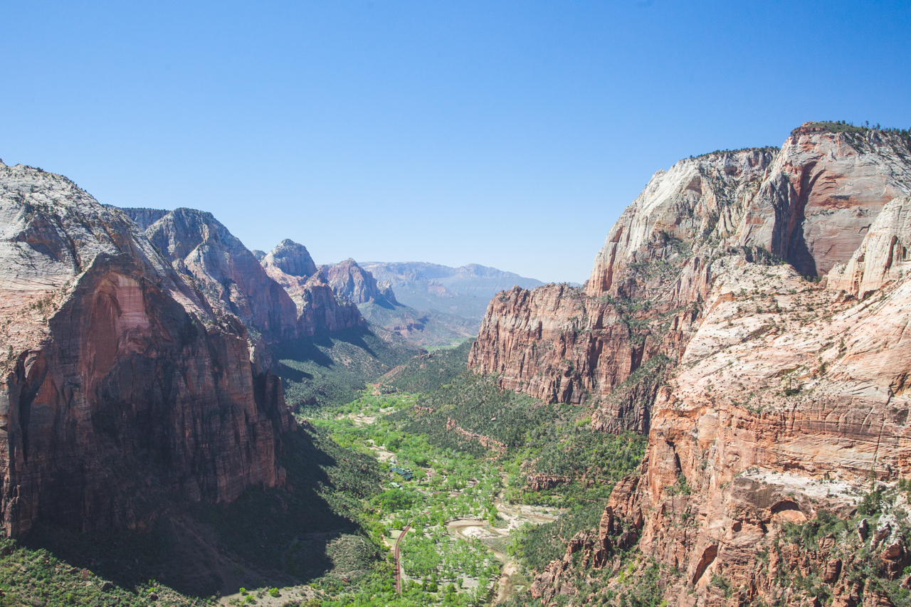 A View From the Top: Hiking Angels Landing in Zion National Park