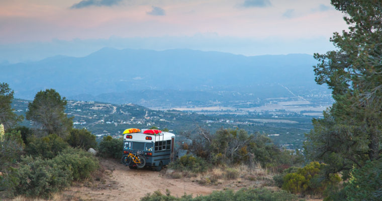 FREE Camping in Southern California