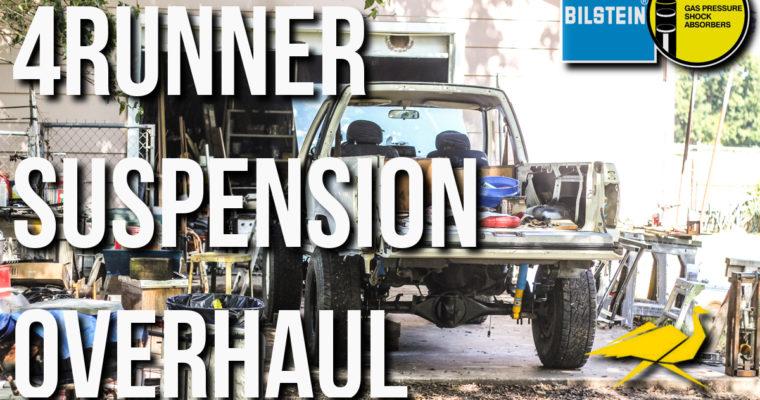 1st Generation 4Runner Suspension Replacement│Old Man Emu Dakar (MED)│Bilstein 4600