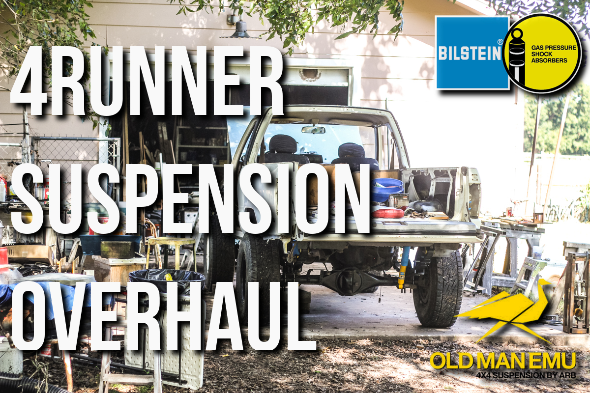 1st Generation 4Runner Suspension Replacement│Old Man Emu Dakar (MED)│Bilstein 4600