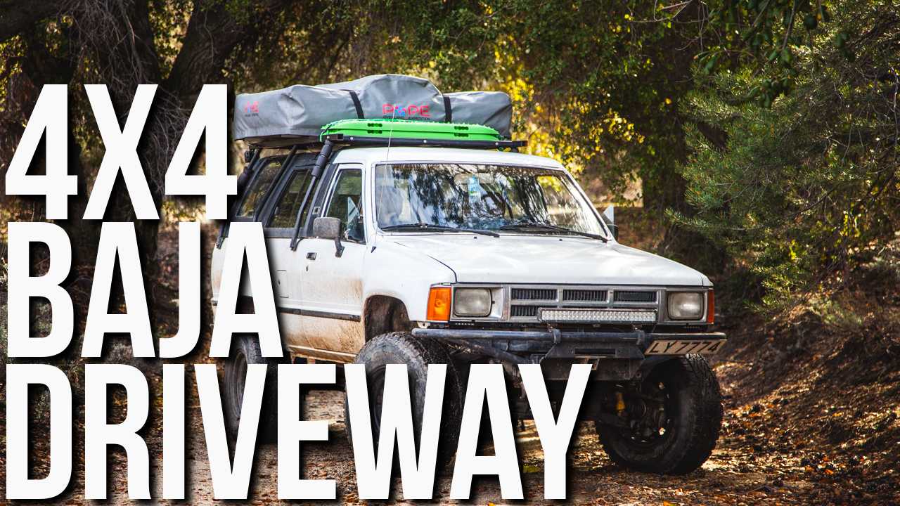 New Travel Video: 4×4 Driveway to Our Housesitting Gig