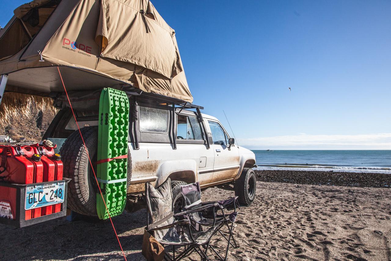 Beach Camping in San Felipe, BC: Campo #1 Touristico
