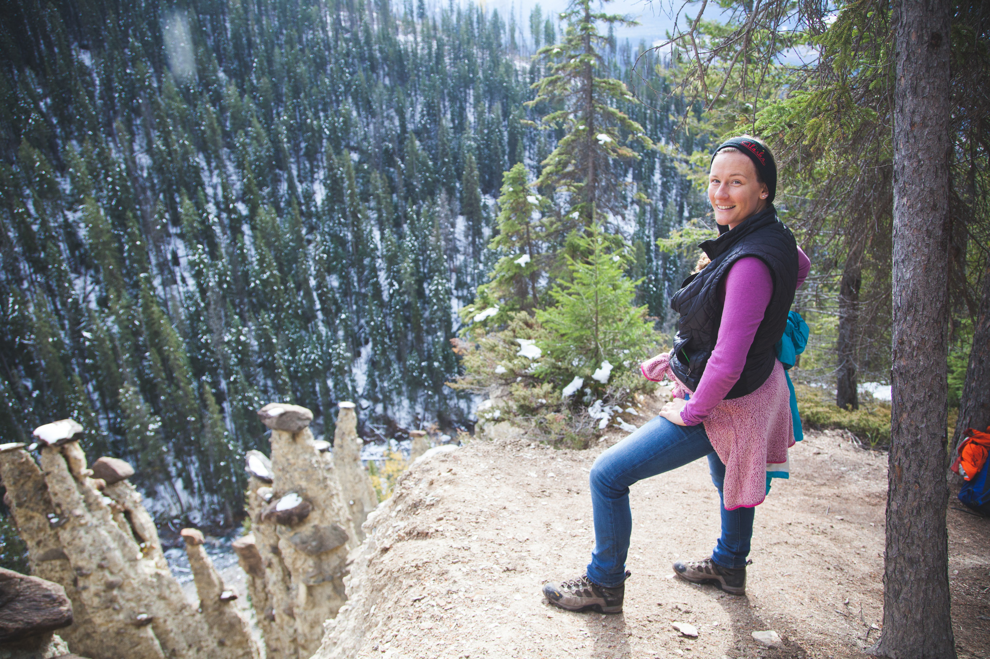 A Hike Through an Abandoned Campground: Hoodoo Creek Trail, Yoho National Park