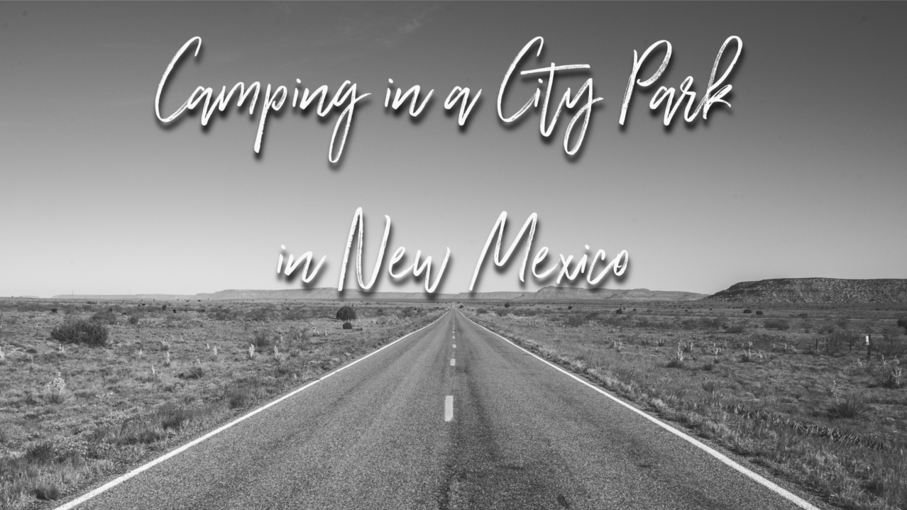 Free Camping: San Jon City Park(NM)