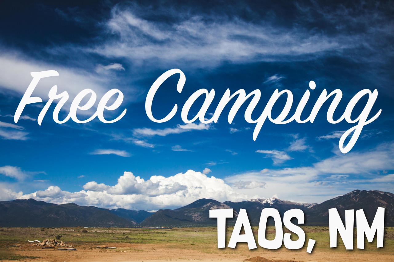 FREE Camping: Taos Ski Valley