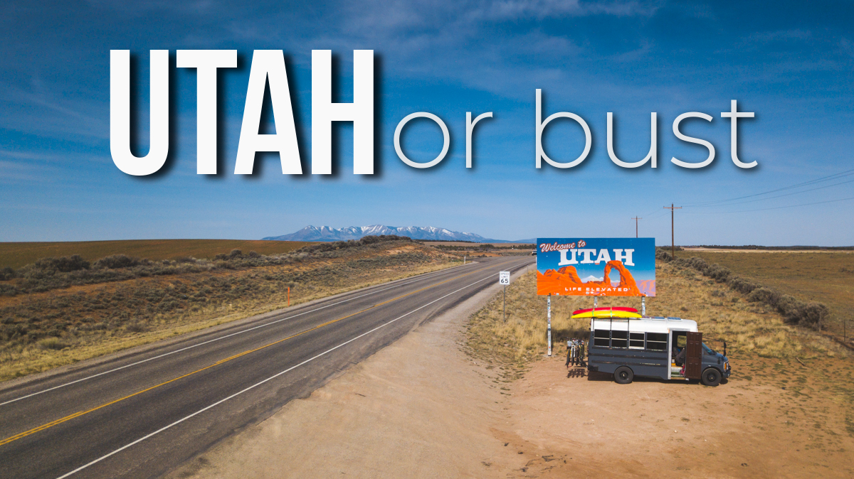 New Travel VLOG Series Episode: Utah or Bust