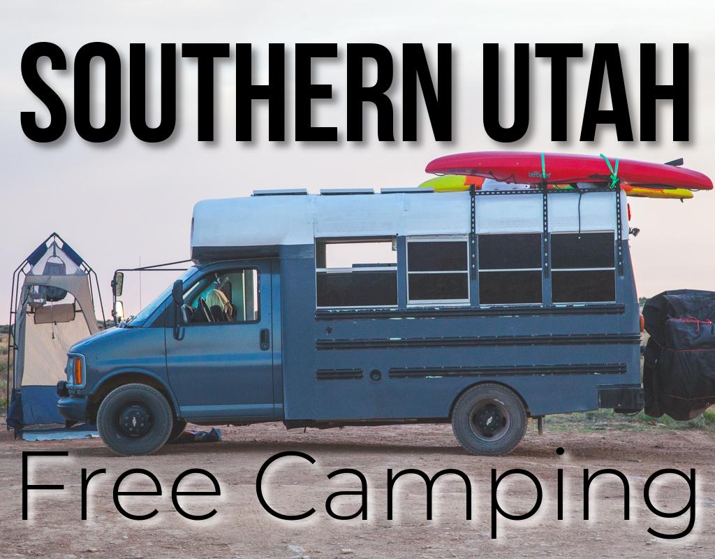 FREE Camping in Southern Utah