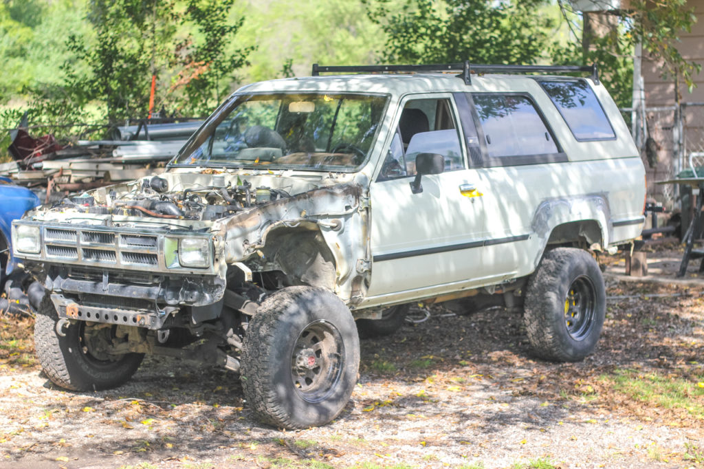 Building A Roof Rack For A 1st Generation Toyota 4runner Okienomads