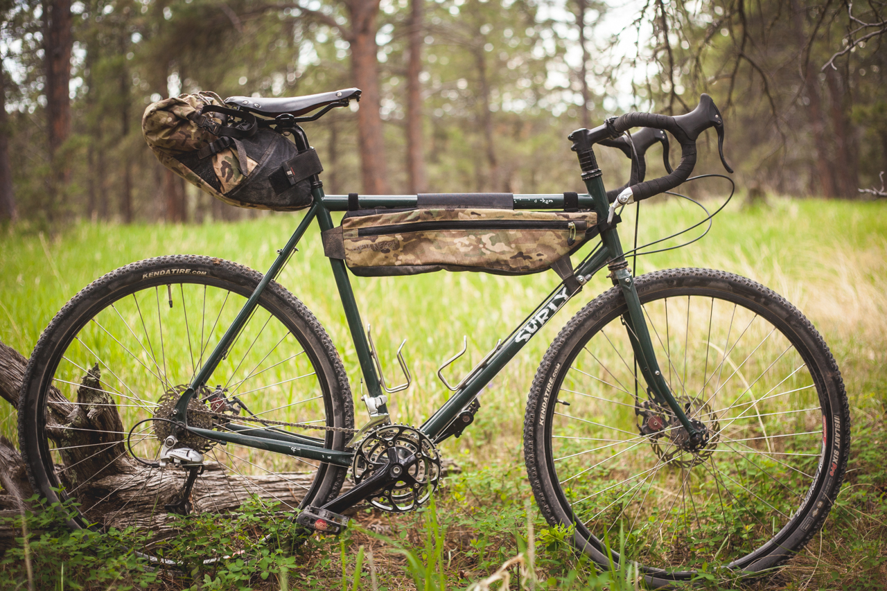 Gear Review- Oveja Negra 1/2 Frame Bag